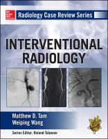 INTERVENTIONAL RADIOLOGY CASE BASED REVIEW SERIES