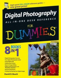 Digital Photography All In One Dummies 3rd General Books