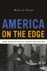 AMERICA ON THE EDGE, by GIROUX, HENRY