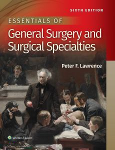 ESSENTIALS OF GENERAL SURGERY, by LAWRENCE, PETER