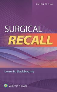 SURGICAL RECALL, by BLACKBOURNE, LORNE