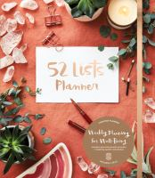 52 LISTS PLANNER (UNDATED)