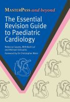 ESSENTIAL REVISION GUIDE TO PAEDIATRIC CARDIOLOGY