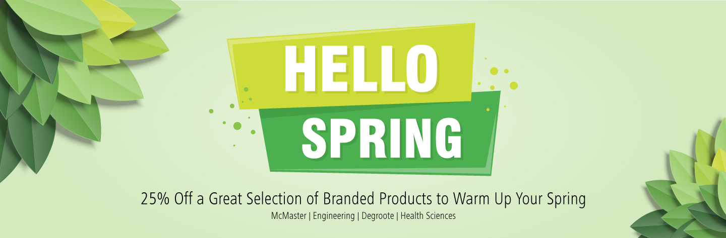 25% Off a Great Selection of Products to Warm Up Your Spring
