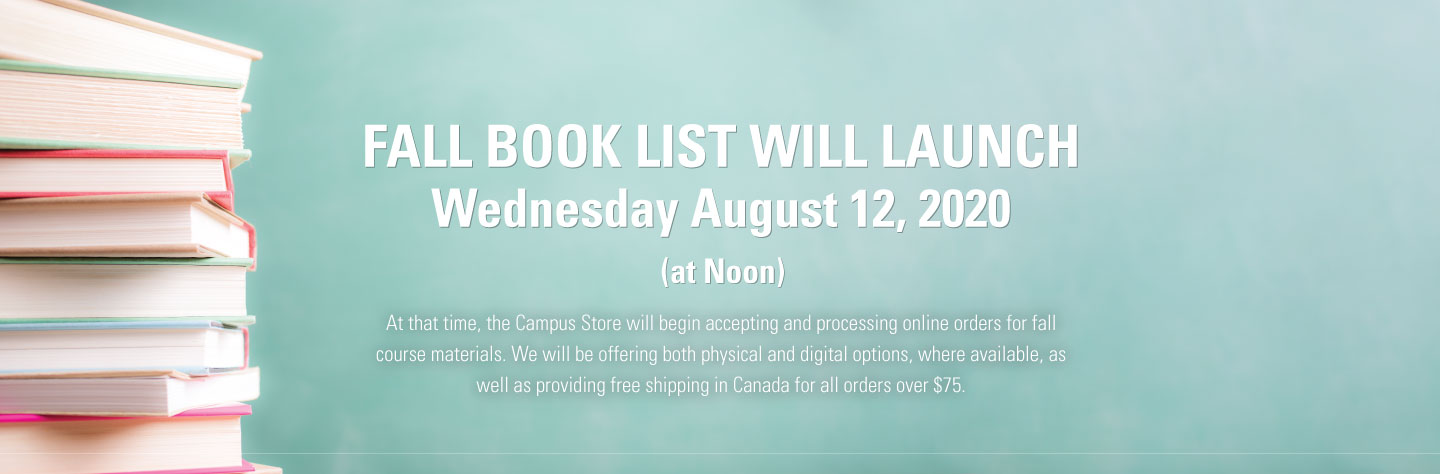 Booklist will launch August 12th