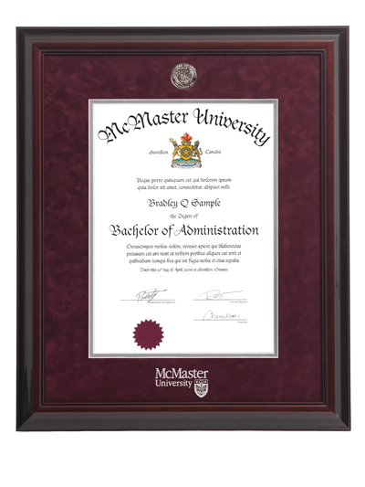 Executive Medallion Degree Frame