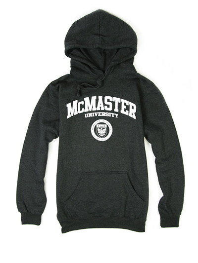 Classic Circle Crest Hooded Sweatshirt - Charcoal