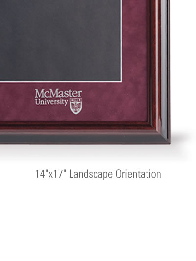 "Executive Medallion 14""x17"" Landscape Orientation"