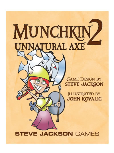 Munchkin 2: Unnatural Axe Expansion Pack