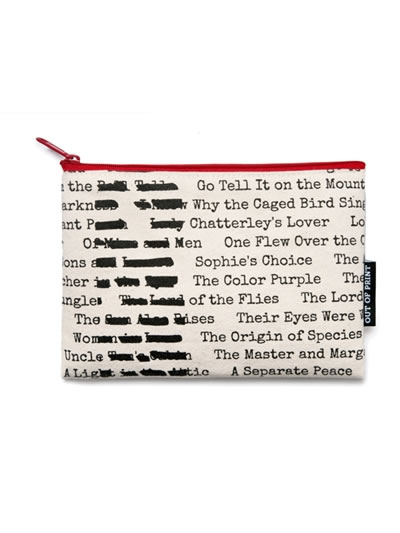 Banned Books Canvas Case