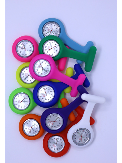 Silicone Lapel Watch