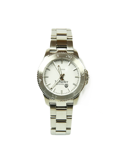 Ladies Silver McMaster Fossil Watch