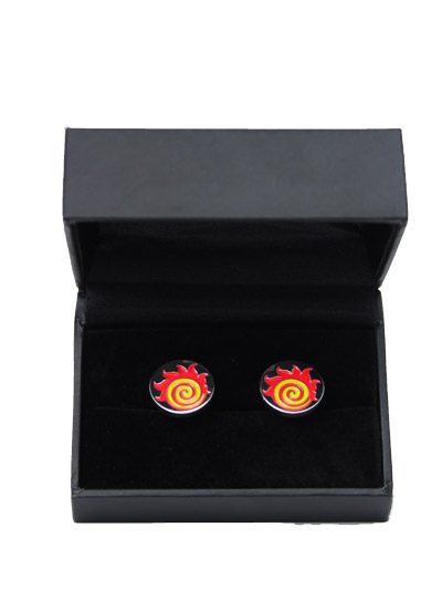 Engineering Fireball Cufflinks