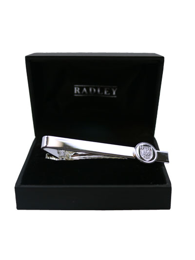 Silver Shield Tie Bar