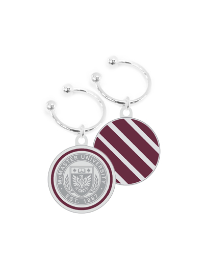 McMaster Circle Crest Insignia Key Fob