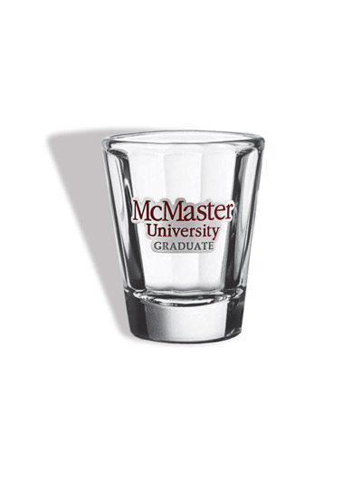 McMaster Graduate Shot Glass