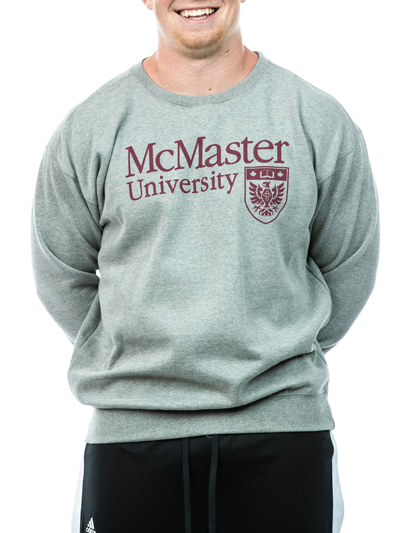 Official Crest Crewneck Sweatshirt - Grey