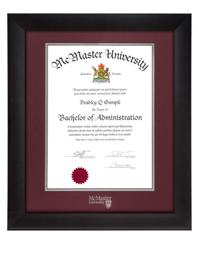 Distinction Degree Frame