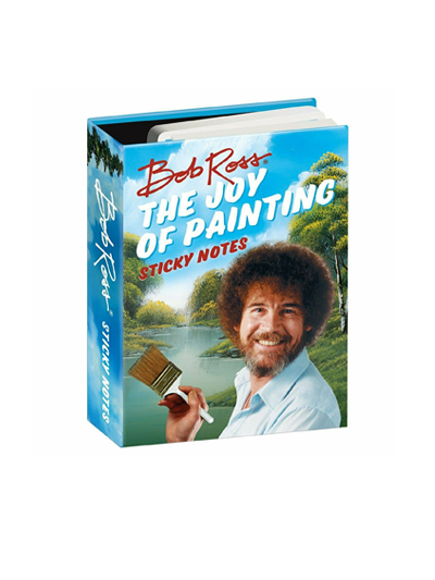 Bob Ross Sticky Notes