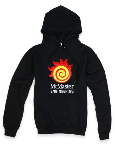 Engineering Hooded Sweatshirt with Sublimated logo