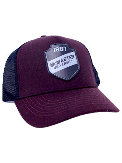 McMaster Baseball Cap with Black Patch