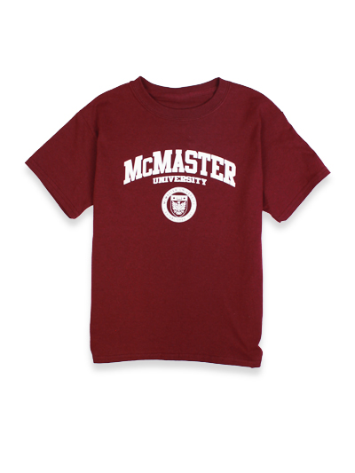 McMaster Youth Circle Crest T-shirt