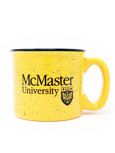 McMaster Official Crest Speckled Mug
