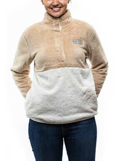 McMaster Fitted Fuzzy Fleece Pullover