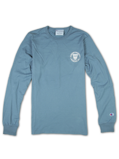 Champion Long Sleeve Tshirt with McMaster Circle Crest