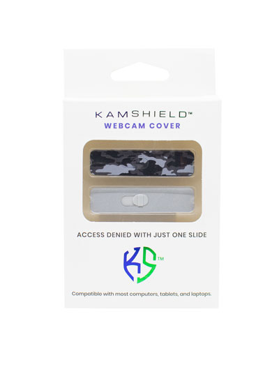 KAMSHIELD WEBCAM COVERS - 2PK - CAMO/SL