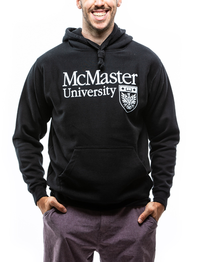 Classic Official Crest Hooded Sweatshirt - Black