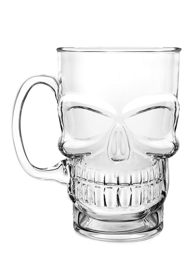 Brain Freeze Skull Mug