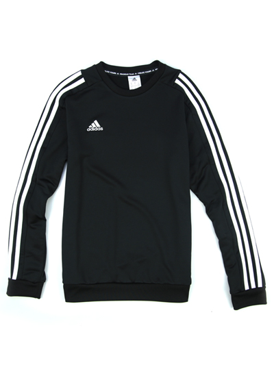 ADIDAS FITTED CREWNECK SWEAT TOP