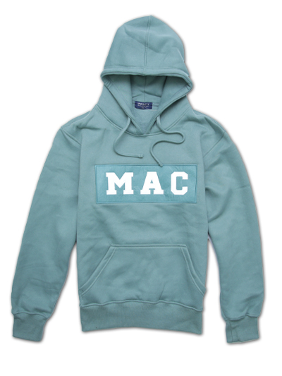 MAC COLOUR BLOCK HOODED SWEATSHIRT