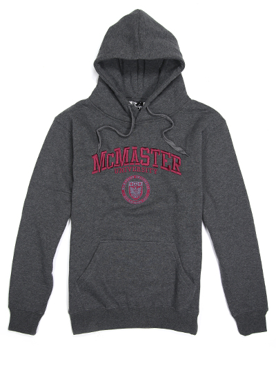 Circle Crest Embroidered Hooded Sweatshirt