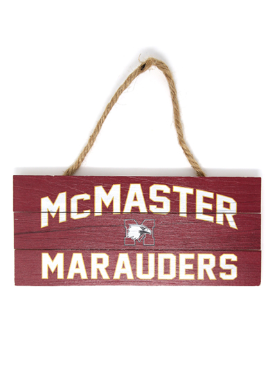 Marauder Wood Plank Hanging Sign