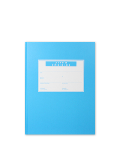 Blue Lab Book