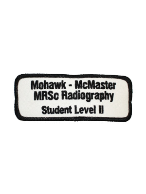 Medical Radiation Sciences Radiography Level II Student Badge
