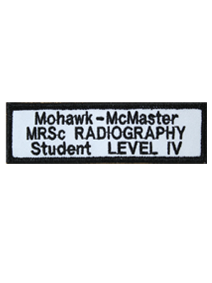 Medical Radiation Sciences Radiography Level IV Student Badge