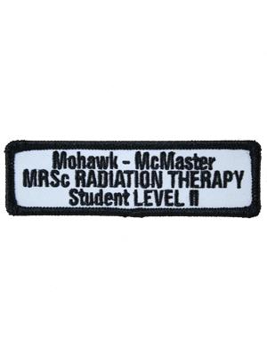Medical Radiation Sciences Radiation Therapy Level II Student Badge
