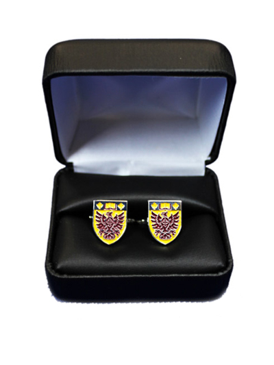 McMaster Shield Cufflinks