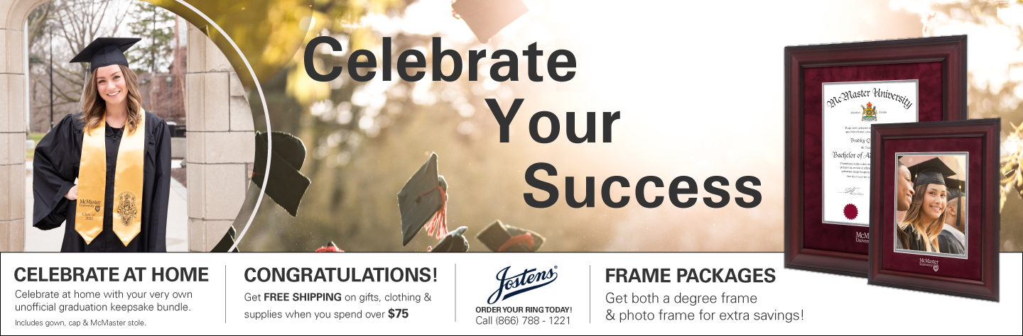Celebrate your success. Grad gifts for 2021.
