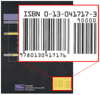 Example of an ISBN